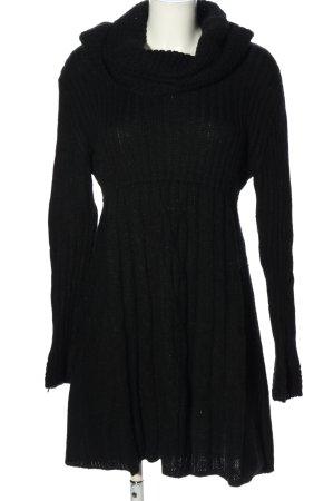 Liberty Abito di maglia nero stile casual