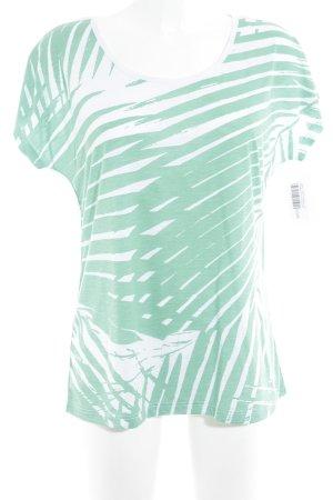 Liberty T-Shirt himmelblau-grün Casual-Look