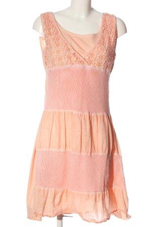 Liberty Abito scamiciato color carne-rosa elegante