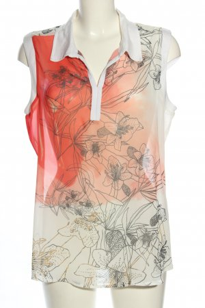 Liberty Transparenz-Bluse Allover-Druck Casual-Look