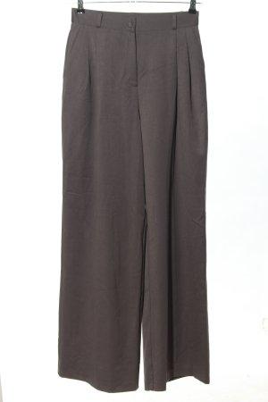 Lichi Pantalon à pinces brun moucheté style décontracté