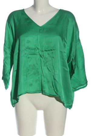 Liebesglück Schlupf-Bluse grün Casual-Look