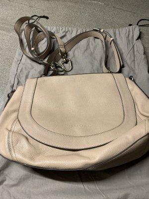 Liebeskind Shoulder Bag silver-colored-beige leather