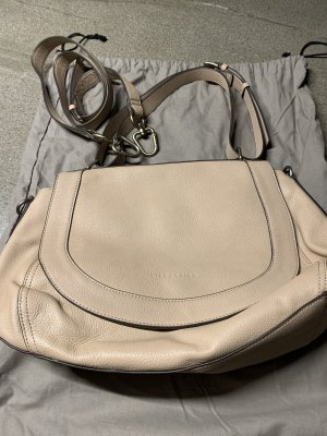 Liebeskind Shoulder Bag silver-colored-beige leather