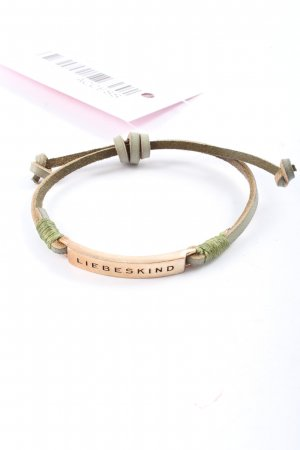 Liebeskind Armband bruin-goud casual uitstraling