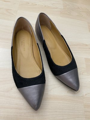 Liebeskind Ballerinas with Toecap black-silver-colored