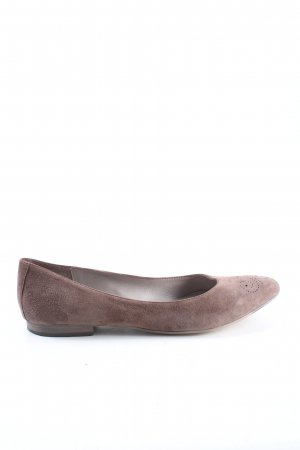 Liebeskind Ballerinas with Toecap brown casual look