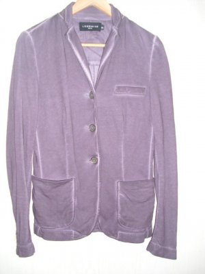 Liebeskind Sweat Blazer grey lilac cotton