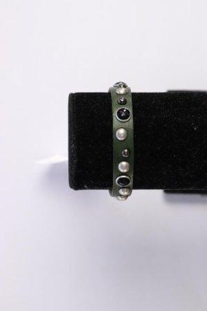 Liebeskind Berlin Armband olivgrün aus Leder