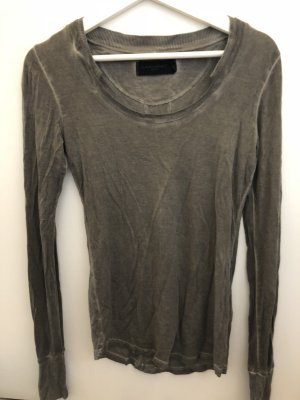 Liebeskind Long Sleeve Blouse grey brown