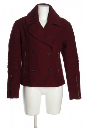 Liebeskind Berlin Pea Jacket red casual look