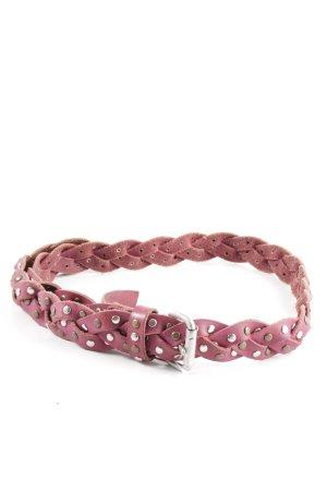 Liebeskind Berlin Braided Belt pink casual look
