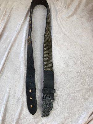 Liebeskind Berlin Cintura borchiata marrone-nero-nero