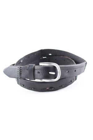 Liebeskind Berlin Faux Leather Belt black