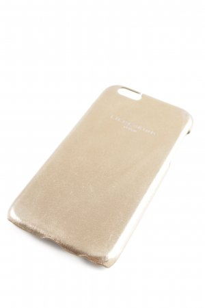 Liebeskind Berlin Mobile Phone Case gold-colored printed lettering casual look