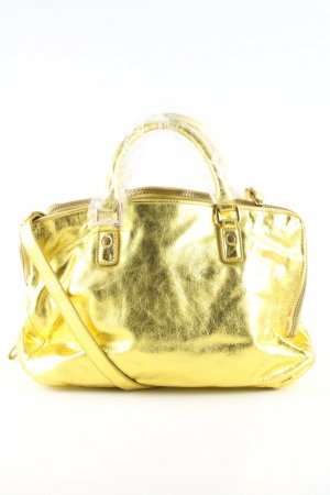 Liebeskind Berlin Bolso barrel color oro elegante