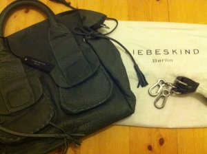 Liebeskind Carry Bag grey-anthracite leather
