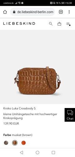 Liebeskind Berlin Kroko Luka S Crossschoulder Neu!