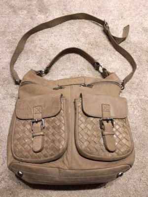 Liebeskind Handbag light brown leather