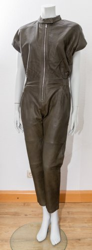 Liebeskind Jumpsuit olive green leather