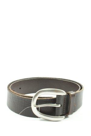 Liebeskind Berlin Cinturón de cuero marrón estilo «business»