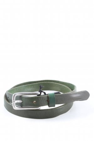 Liebeskind Berlin Leather Belt green casual look