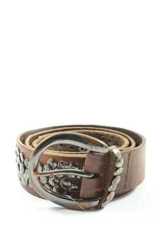 Liebeskind Berlin Faux Leather Belt brown casual look