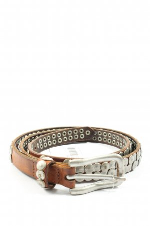 Liebeskind Berlin Studded Belt brown-silver-colored casual look