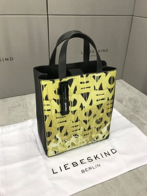 Liebeskind Shopper black-yellow