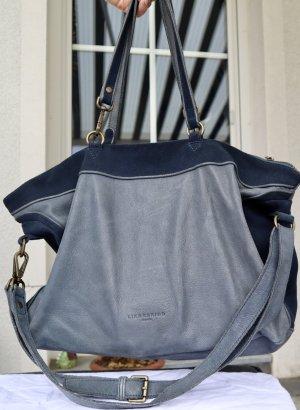 Liebeskind Carry Bag dark blue leather