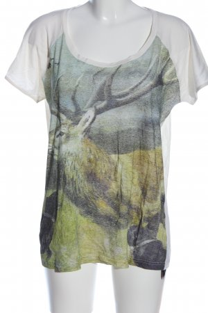 Liebeskind Berlin Print-Shirt Motivdruck Casual-Look