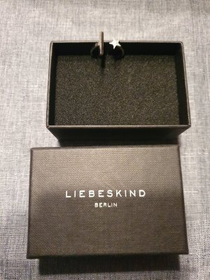 Liebeskind Berlin Silver Ring silver-colored metal