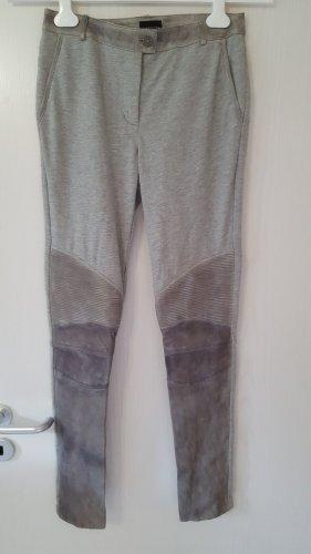 Liebeskind Berlin Pantalone a sigaretta grigio chiaro