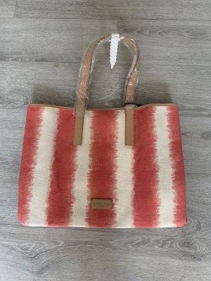 Liebeskind Berlin Sac porté épaule crème-rouge clair