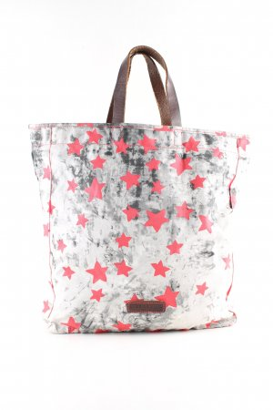 Liebeskind Berlin Shopper abstract patroon casual uitstraling