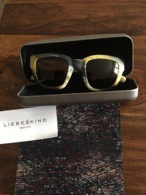 Liebeskind Berlin Occhiale da sole spigoloso multicolore