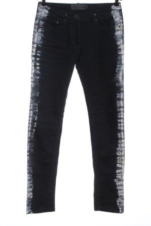 Liebeskind Berlin Straight-Leg Jeans schwarz-weiß Casual-Look