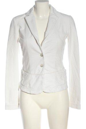 Liebeskind Berlin Blazer de tela de sudadera blanco look casual