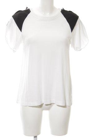 Liebeskind Berlin T-Shirt weiß-schwarz Elegant