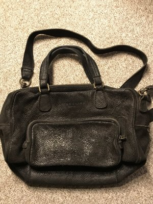 Liebeskind Berlin Carry Bag black-anthracite leather