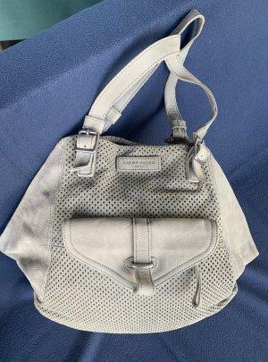 Liebeskind Berlin Carry Bag light grey leather
