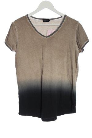 Liebeskind Berlin V-Ausschnitt-Shirt Farbverlauf Casual-Look