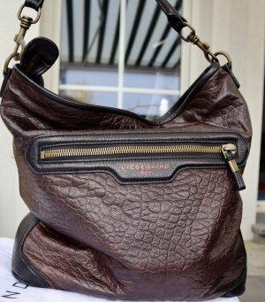 Liebeskind Shoulder Bag dark brown leather