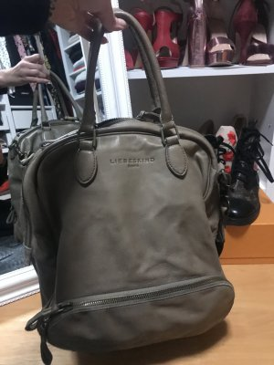 Liebeskind Berlin Shopper light brown-grey brown leather