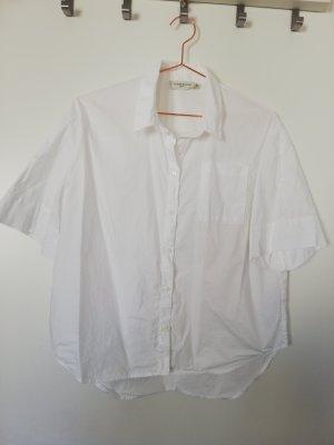 liebeskind Berlin weiße kurzarm Hemdbluse