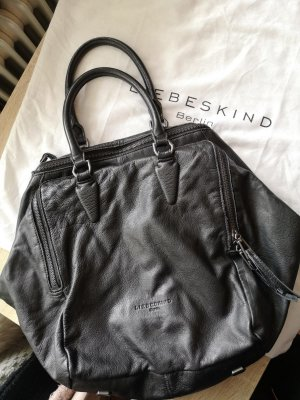 Liebeskind Pouch Bag black leather