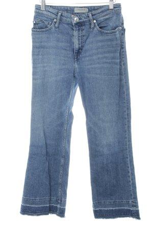 Liebeskind Boot Cut Jeans steel blue casual look