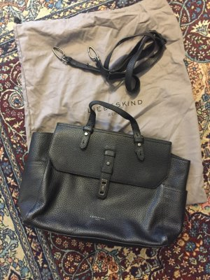 Liebeskind Berlin Briefcase black leather