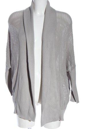 Liebeskind Cardigan grigio chiaro puntinato stile casual
