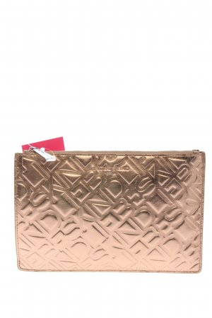 Liebeskind Clutch goldfarben Allover-Druck Casual-Look